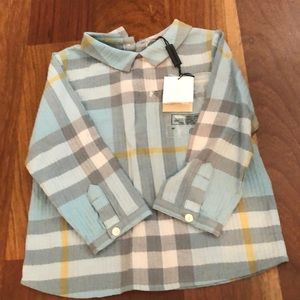 Infant Burberry dress shirt